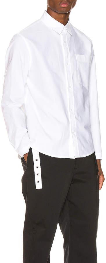 Craig Green Oxford Shirt in White | FWRD