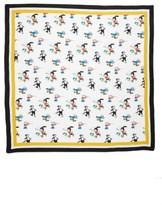 Stella McCartney Women's Cartoon Graphic Silk Scarf