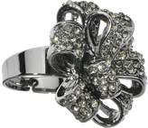 Body Candy Black Sparkling Bow Adjustable Ring