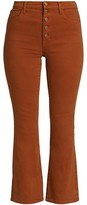 Thumbnail for your product : J Brand Lillie High-Rise Crop Flare Jeans