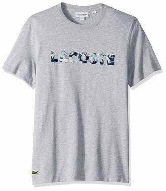 Lacoste Men's S/S Jersey Graphic T-Shirt