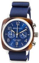 Briston Classic Chronograph Date - Blue Sunray Dial