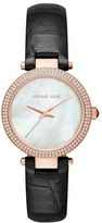 MICHAEL Michael Kors Women's 'Parker - Mini' Leather Strap Watch, 33Mm