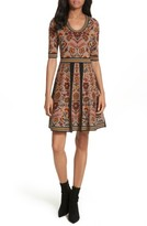M Missoni Women's Floral Jacquard Knit Dress