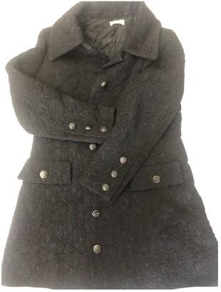 Christian Dior Black Wool Coat for Women Vintage
