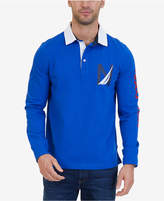 Nautica Men's Slim-Fit Heritage Long-Sleeve Polo