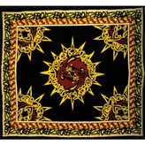 Old Glory Celtic Sun Dolphins Tapestry