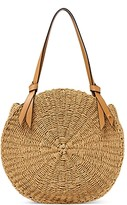 Thumbnail for your product : Etienne Aigner Luca Large Round Straw Beach Tote