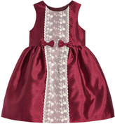 Laura Ashley Lace-Front Dress, Toddler Girls (2T-5T)