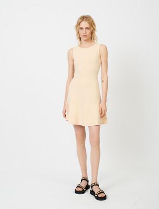 Maje Fine knit jacquard dress