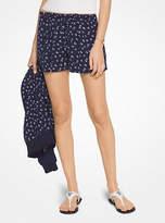 Michael Kors Floral Drawstring Shorts