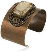 "Liz Palacios Piedras"" Swarovski Elements Crystal Cuff Bracelet"