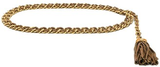 Chanel Pre Owned 1980's Chain Belt