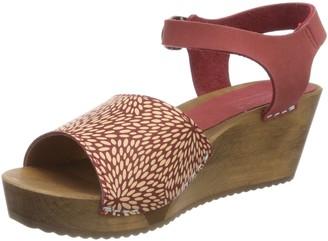 Sanita Women's Othenia Wedge Flex Sandal Ankle Strap