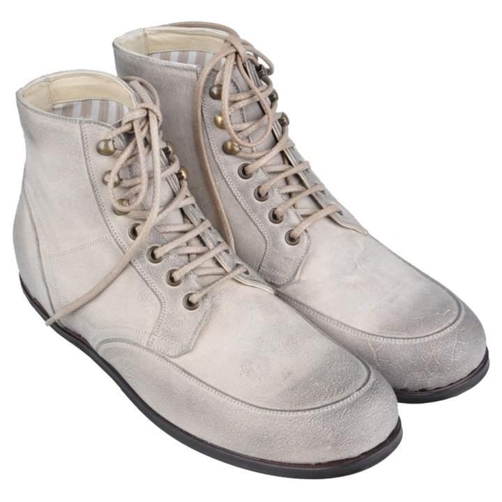 Dolce & Gabbana Beige Suede Boots