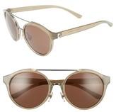 Tory Burch Women's 54Mm Sunglasses - Black/ Silver