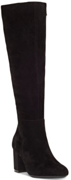 INC International Concepts Inc Women's Radella Wide-Calf Dress Boots, Created for Macy's Women's Shoes
