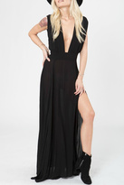 Stillwater Sleek V Maxi Dress