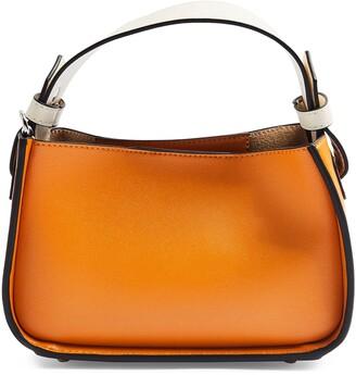 Topshop Mini Faux Leather Satchel