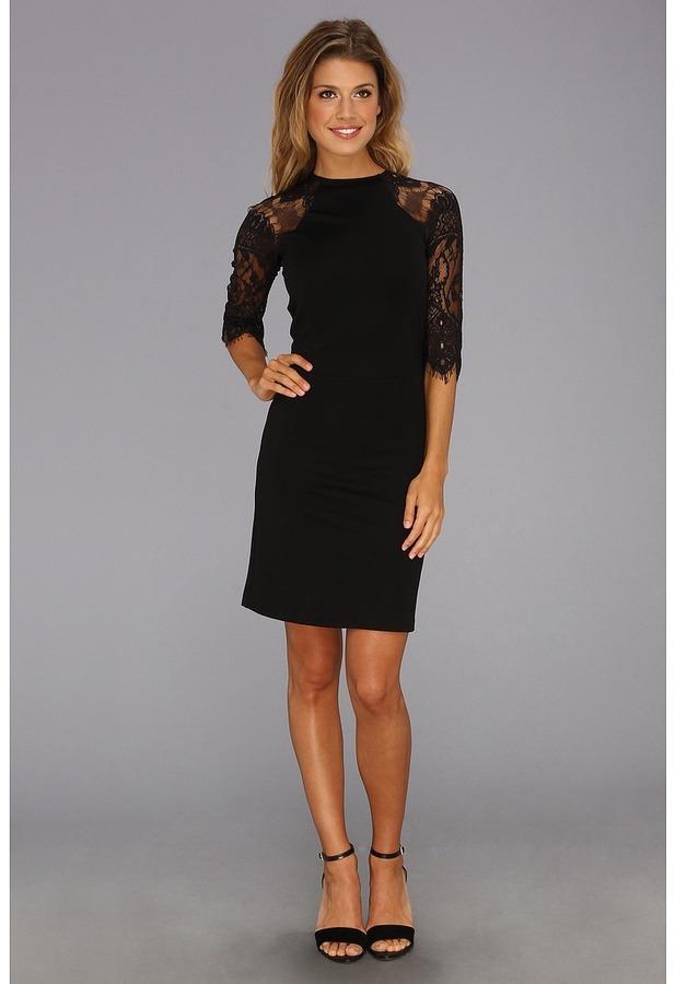 BB Dakota Princeton Dress (Black) - Apparel