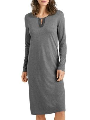 Hanro Fia Long-Sleeve Night Gown