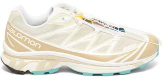 Salomon Xt-6 Adv Mesh Trainers - Mens - Beige