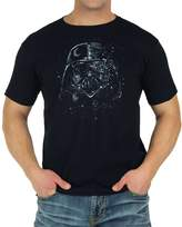 Mighty Fine Star Wars Broken Mask Vader T-Shirt 3X-Large
