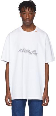 Off-White White 3D Pencil T-Shirt