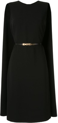 Ralph Lauren formal dress with cape