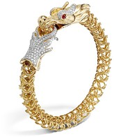 John Hardy Diamond, Ruby & 18K Yellow Gold Medium Naga Dragon Bracelet, .86 ct. t.w.