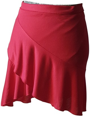 Eres Red Viscose Skirts