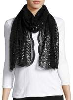 Cejon Mesh and Sequin Scarf
