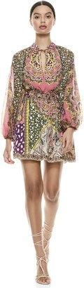 Alice + Olivia Lilian Paisley Mini Dress