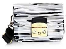 Furla Women's Mini Metropolis Bovisa Zebra Shoulder Bag