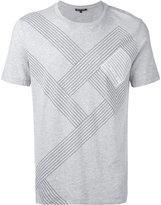 MICHAEL Michael Kors striped T-shirt - men - Cotton - L