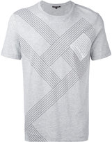 MICHAEL Michael Kors striped T-shirt - men - Cotton - XL