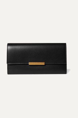 Bottega Veneta Embellished Leather Continental Wallet - Black