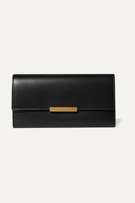 Bottega Veneta Embellished Leather Wallet - Black