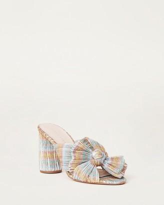 Loeffler Randall Penny Bow Sandal Pastel