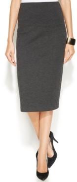 Vince Camuto Petite Ponte-Knit Pencil Skirt