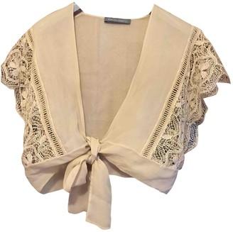 Alberta Ferretti Beige Knitwear for Women