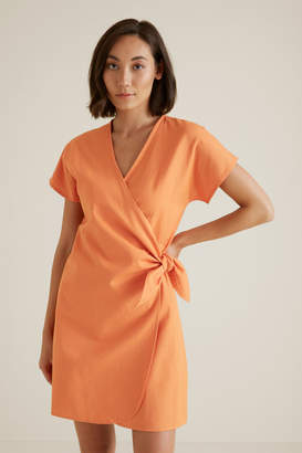 Seed Heritage Wrap Around Mini Dress