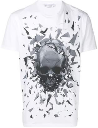 Alexander McQueen graphic skull print T-shirt