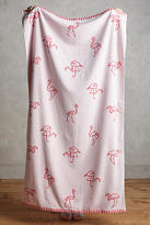 Anthropologie Flamingo Beach Towel