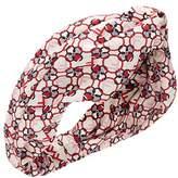 Fendi Women's White/pink Silk Headband.