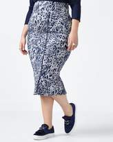 Penningtons MELISSA McCARTHY Animal Print Pencil Skirt