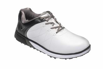 Callaway Women's Halo Pro Waterproof Spikeless Golf Shoes White/Black) 6.5 (40 EU)