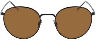 Lacoste Round Metal Ultra-Thin Sunglasses