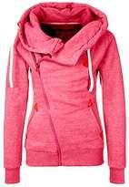 Pullover Hoodie for Women Fleece With Zipper Sweatshirt From Koobea