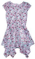 Splendid Girls' Handkerchief Hem Floral Dress - Little Kid